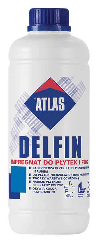 Atlas Delfin impregnat płytek fug 1kg 1L