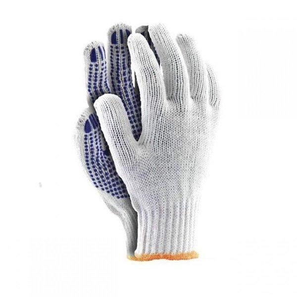 Rękawice robocze ochronne nakrapiane a3