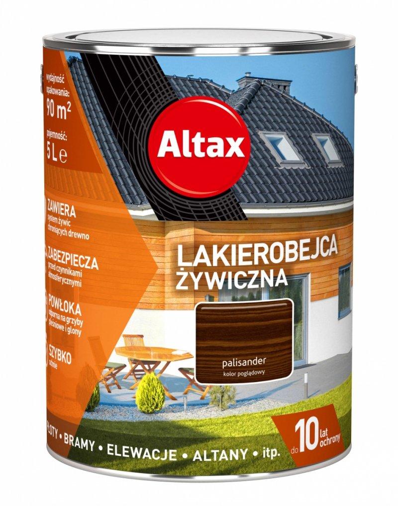 Altax Lakierobejca 5L PALISANDER Żywiczna Drewna Szybkoschnąca