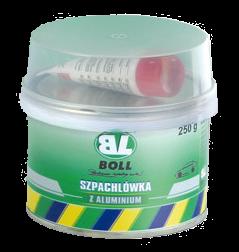 BOLL Szpachla Szpachlówka Aluminium 250g Samochodowa z