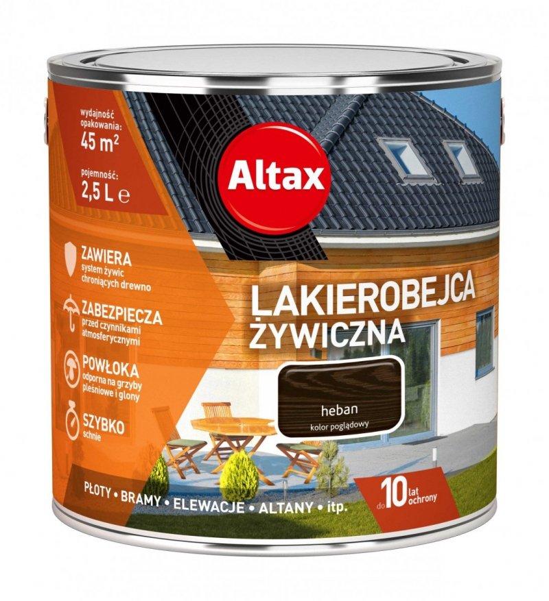Altax Lakierobejca 2,5L HEBAN Żywiczna Drewna Szybkoschnąca