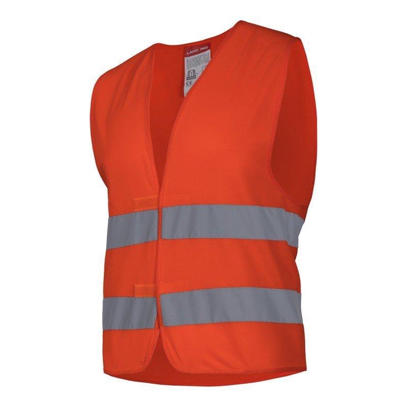 LAHTI PRO Kamizelka odblaskowa M pomarańczowa ostrzegawcza robocza