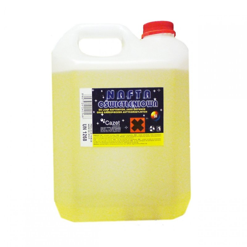 Nafta Oświetleniowa 5L Cazet