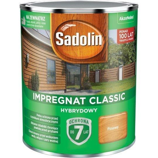 Sadolin Classic impregnat 0,75L PINIOWY PINIA 2 drewna clasic