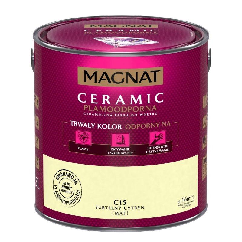 MAGNAT Ceramic 2,5L C15 Subtelny Cytryn