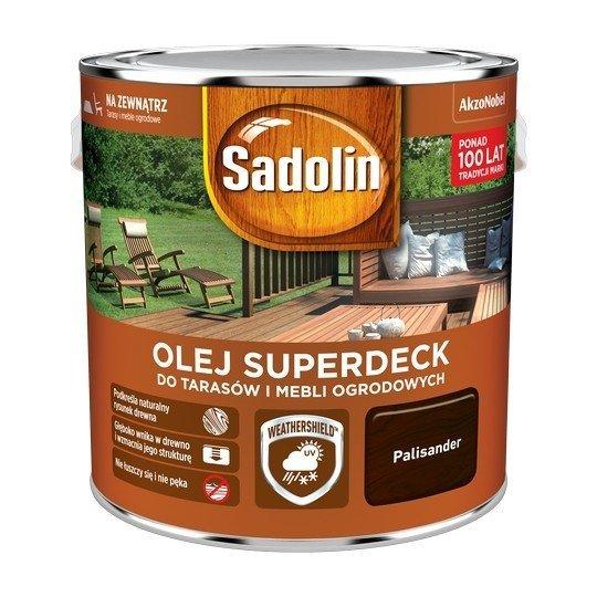 Sadolin Superdeck olej 2,5L PALISANDER 95 tarasów drewna do