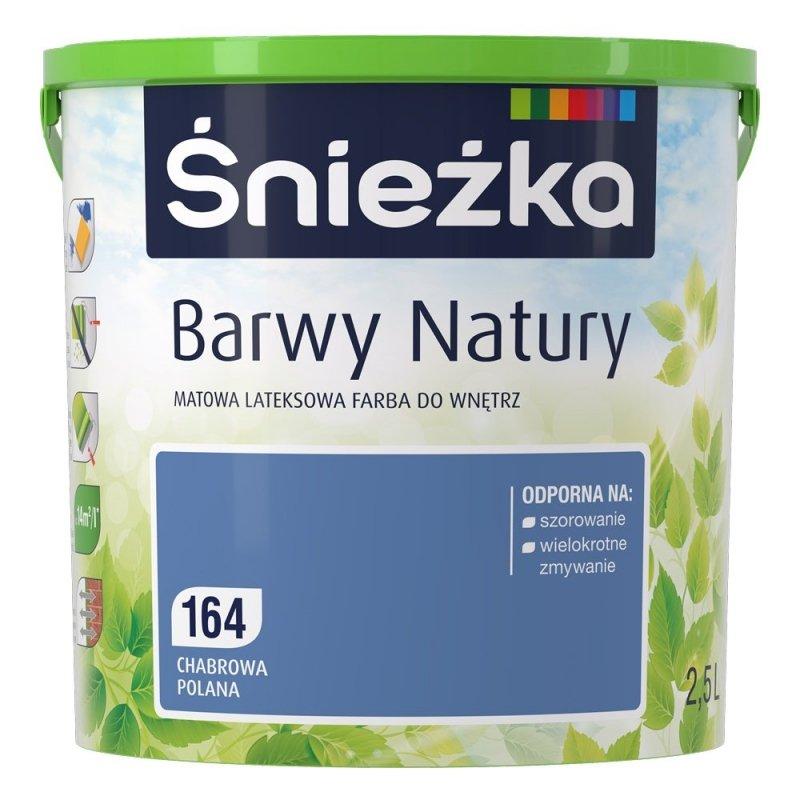 Śnieżka Barwy Natury 2,5L Chabrowa Polana 164 Farba
