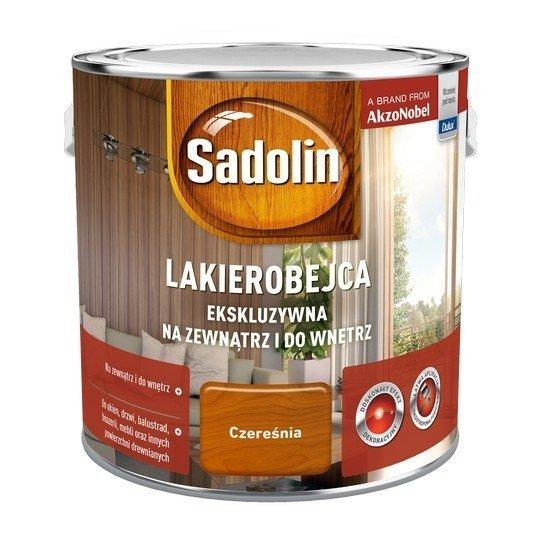 Sadolin Ekskluzywna lakierobejca 2,5L CZEREŚNIA drewna