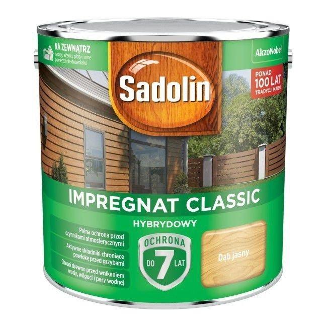 Sadolin Classic impregnat 2,5L DĄB JASNY 57 drewna clasic