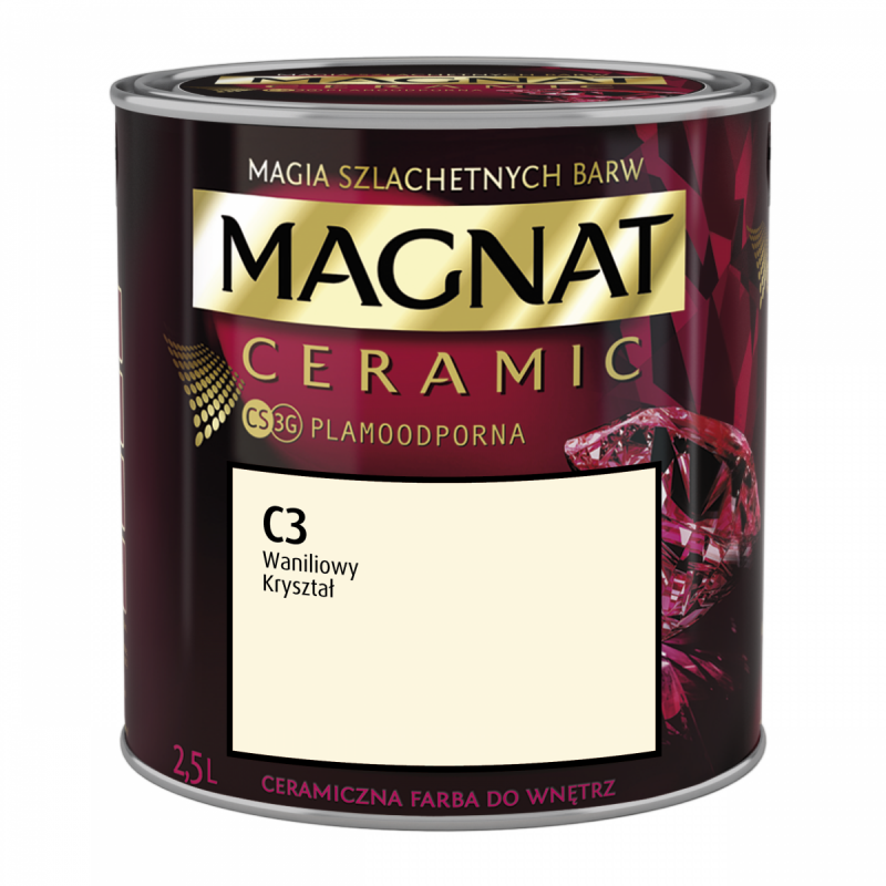 MAGNAT Ceramic 2,5L C 3 Waniliowy Kryształ