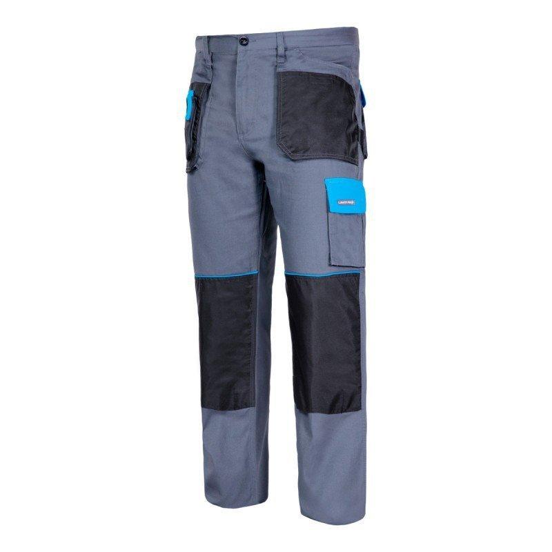 LAHTI PRO Spodnie robocze pasa ochronne 2L bawełniane do