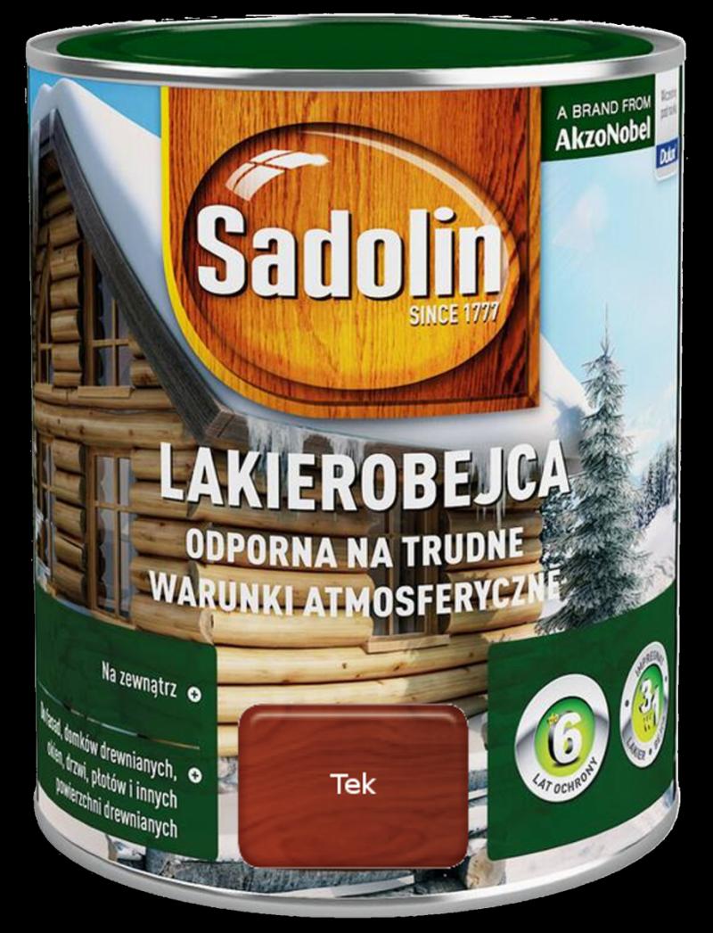 Sadolin Odporna lakierobejca 2,5L TEK TIK TEAK drewna