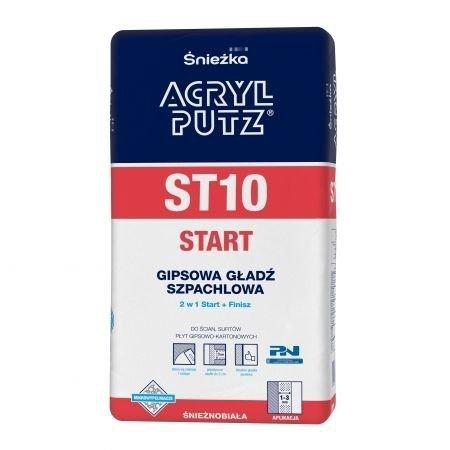 Acryl-Putz Gładź szpachlowa ST10 2,5kg sypka Start+Finish