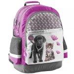 Kotek i Piesek Plecak Szkolny dla Dziewczynki  [RLA-116]