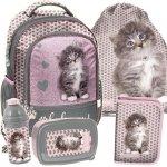 Szkolny Plecak dla Dziewczyny do Szkoły Kot Kotek [RLD-260]