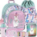 Plecak Paso Szkolny z Lamami dla Dziewczynki [PP19LA-090]