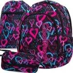 Cp Plecak CoolPack Młodzieżowy DRAWING HEARTS Dziewczęcy [B25038]