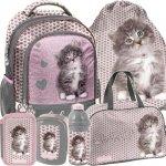 Plecak dla Dziewczyny Szkolny z Kotem Kotek [RLD-260]