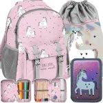 Iealny Plecak Jednorożec Unicorns Dziewczęcy Szkolny [PP19UN-810]