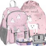 Plecak Dziewczęcy Jednorożec Szkolny Różowy Modny [PP19UN-810]