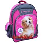 Plecak z Pieskiem Psem Pies Piesek Szkolny dla Dziewczyny [605490]