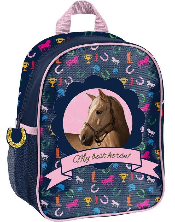 a81c9dce9302f Plecak dla Przedszkolaka Plecaczek w Konie dla Dziewczynki  PPKM18-303