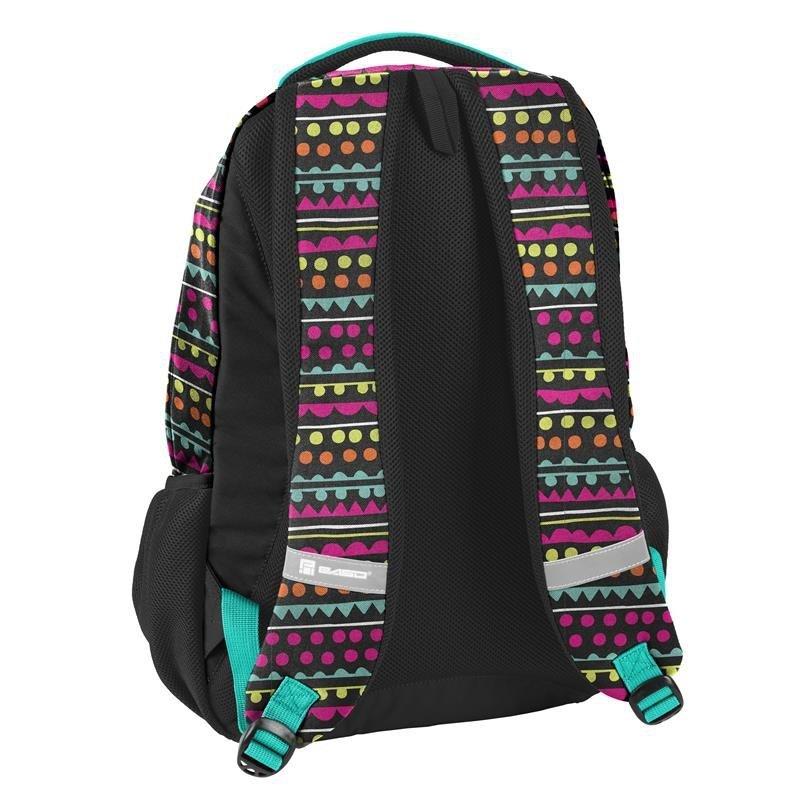 768f7a55e4f20 Plecak Młodzieżowy Szkolny dla Dziewczyny Zestaw [18-2708YO] iplecaki.pl