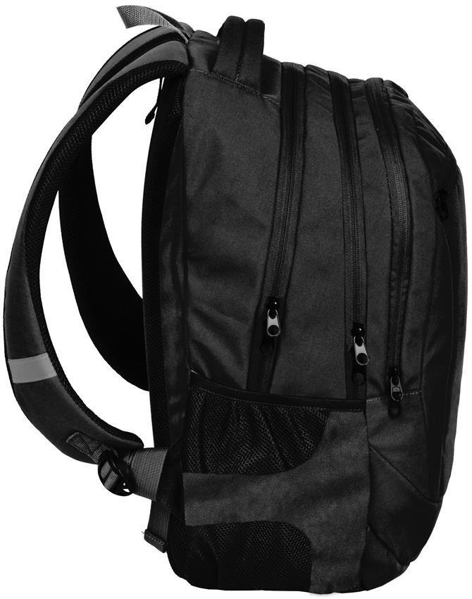 5cddb42c8b68f Plecak Młodzieżowy Lekki Czarny Chłopięcy Zestaw [PPUZ19-2808 ...