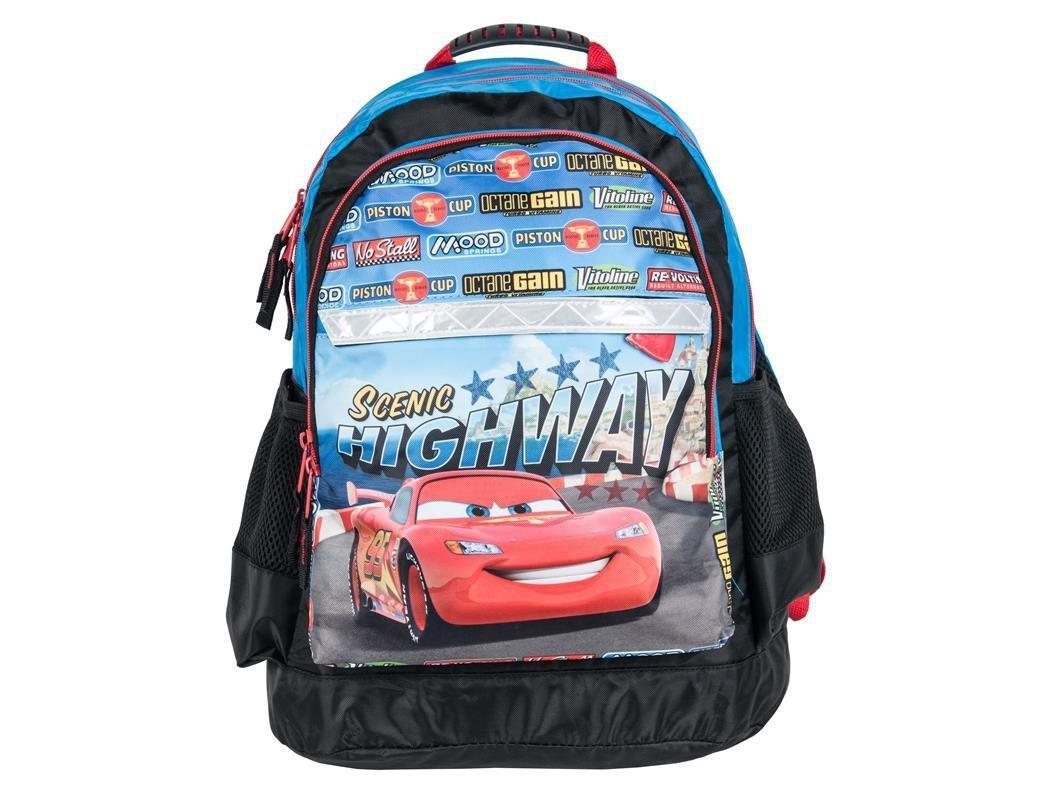 7885a04627d61 Plecak Szkolny Auta Zygzak Cars Auto do Szkoły dla Chłopaka iplecaki.pl