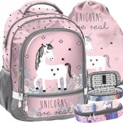 Piękny Plecak Jednorożec dla Dziewczyny Szkolny Idealny [PP19UN-260]