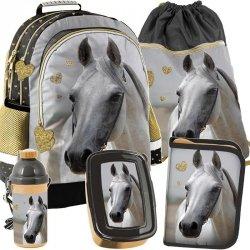 Plecak Szkolny Koń dla Uczennicy Szkolny Komplet w Konie [PP19H-116]