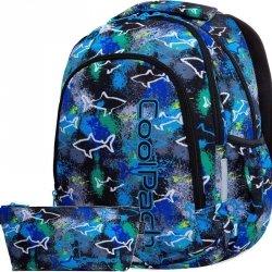 Plecak CP CoolPack Młodzieżowy SHARKS dla Chłopaka [B25032]