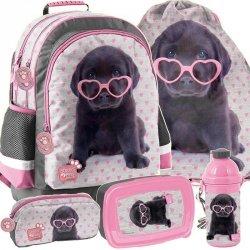Plecak Szkolny Labradorek dla Dziewczyny Piesek [PTB-116]