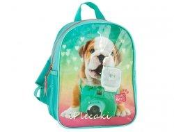 Plecak z Pieskiem do Przedszkola Pies Piesek dla Dziewczyny PEG-303
