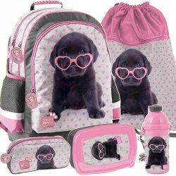 Szkolny Plecak Piesek Labradorek dla Dziewczyny [PTB-116]