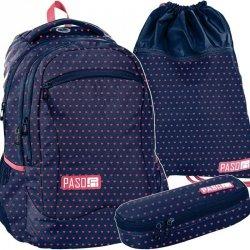 Młodzieżowy Plecak Szkolny Różowe Serduszka [PPMW19-2808]