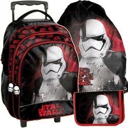 Plecak na Kółkach Szkolny Star Wars Komplet Chłopięcy [STP-300]