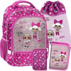 Plecak L.O.L. dla Dziewczynki do Szkoły Surprise Różowy [LOA-260]