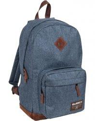 Plecak Vintage Niebieski Młodzieżowy Szkolny dla Dziewczyny [19-229B]