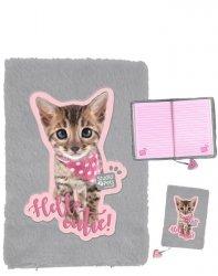 Pamiętnik z Kotkiem Kot dla Dziewczyny Pluszowy Paso [PJC-3670]