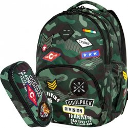 CoolPack CP Plecak MORO Młodzieżowy Zestaw [A16110]