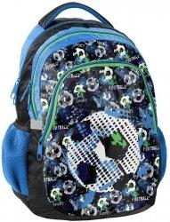 Plecak Szkolny Piłka Football do Szkoły dla Chłopaka [18-699FT]