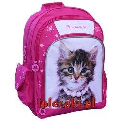 Plecak z Kotkiem Kotem Kot Kotki Szkolny dla Dziewczyny [605497]