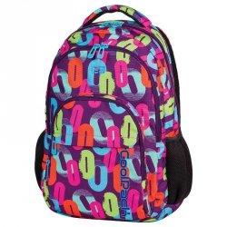 Plecak CP CoolPack Szkolny Młodzieżowy w Kolorowe Zera
