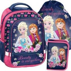 Kraina Lodu Plecak dla Dziewczynki Szkolny Frozen [DOF-260]