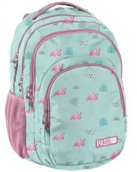 Flamingi Plecak Młodzieżowy Szkolny dla Dziewczyny [PPLF19-2706]