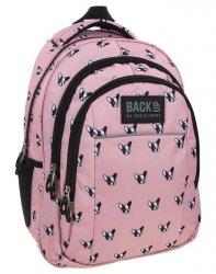 Plecak Młodzieżowy BackUP Szkolny Buldog [PLB1H17]