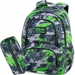 CoolPack Plecak CP dla Chłopaka  Szkolny Spiner 24L TRIOGREEN [C01171]