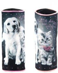 Piórnik Szkolny Piesek Kot Tuba dla Dziewczyny [RHG-003]