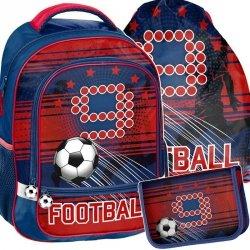 Plecak Szkolny Piłkarski Zestaw dla Chłopaka [PP19FT-260]